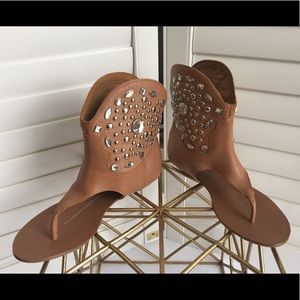 [Dolce Vita] New Cowgirl Bootie Rhinestone Sandal